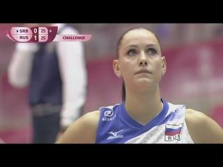 2016 World Grand Prix RUSSIA VS SERBIA Volleyball Women 1080 HD
