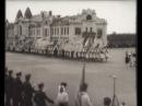 Парад школьников в честь окончания учебного года, 1932-1934