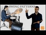 Как играть свинг на барабанах урок 1.