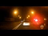 Сотрудники ГИБДД задержали водителя, который нарушил ПДД и скрылся от инспекторов