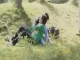 Desi Indian Cuple kissing in park mms video