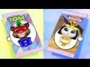 Говорящая Анджела и Говорящий Кот Том.12 Мультик игра видео для детей. Детский к ...