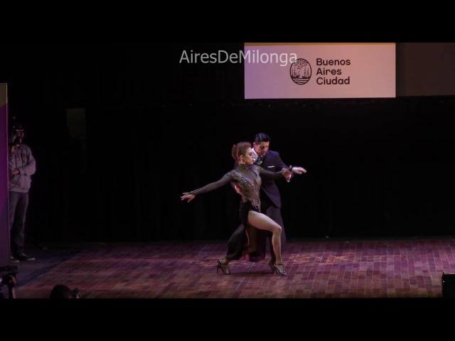 Mundial de Tango 2016 Final escenario, Cristian Correa, Leah Barsky