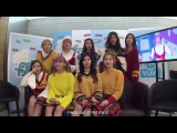 [60fps] 161126 TWICE TT Reaction to Music Core - 음악중심 '5분 딜레이
