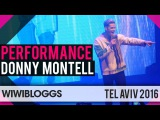 Donny Montell Lithuania 2016 LIVE at Israel Calling, Tel Aviv  | wiwibloggs