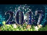 Футаж с новым годом 2017 - год петуха