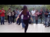 Адыгский (Черкесский Танец) на Голубых озерах!