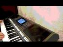 Марина Журавлёва Белая черёмуха синтезатор ямаха psr s770