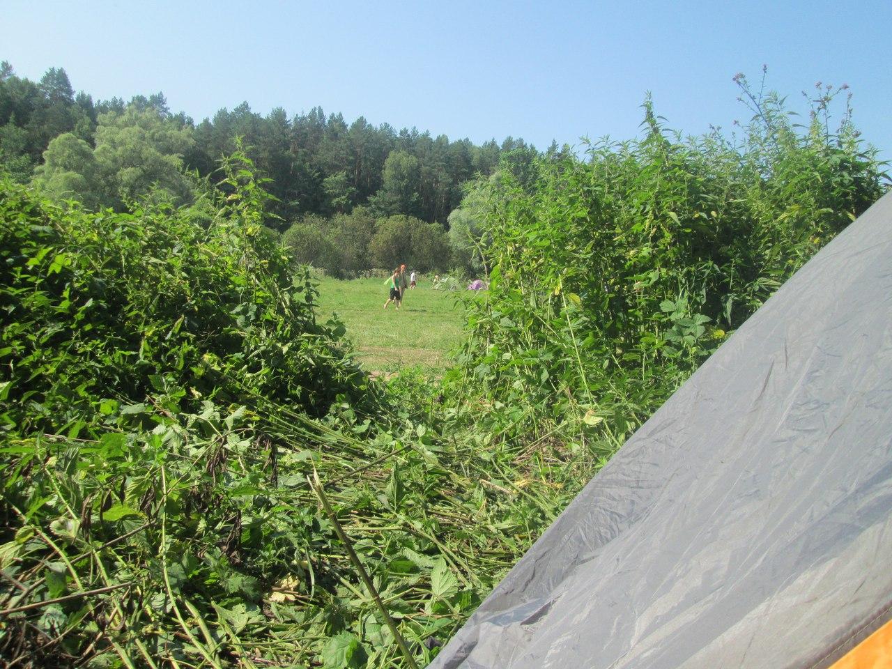 Палатка на Бессоннице
