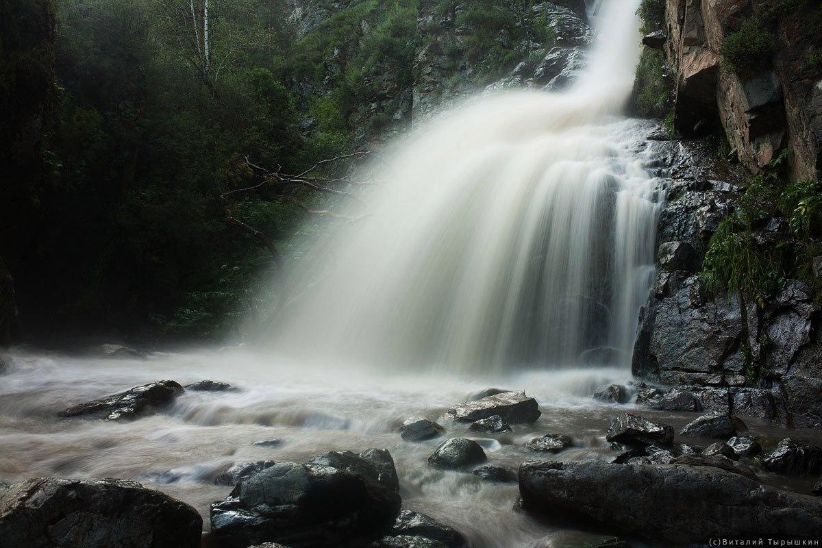 Камышлинский водопад, водопад алтая, камышлинский