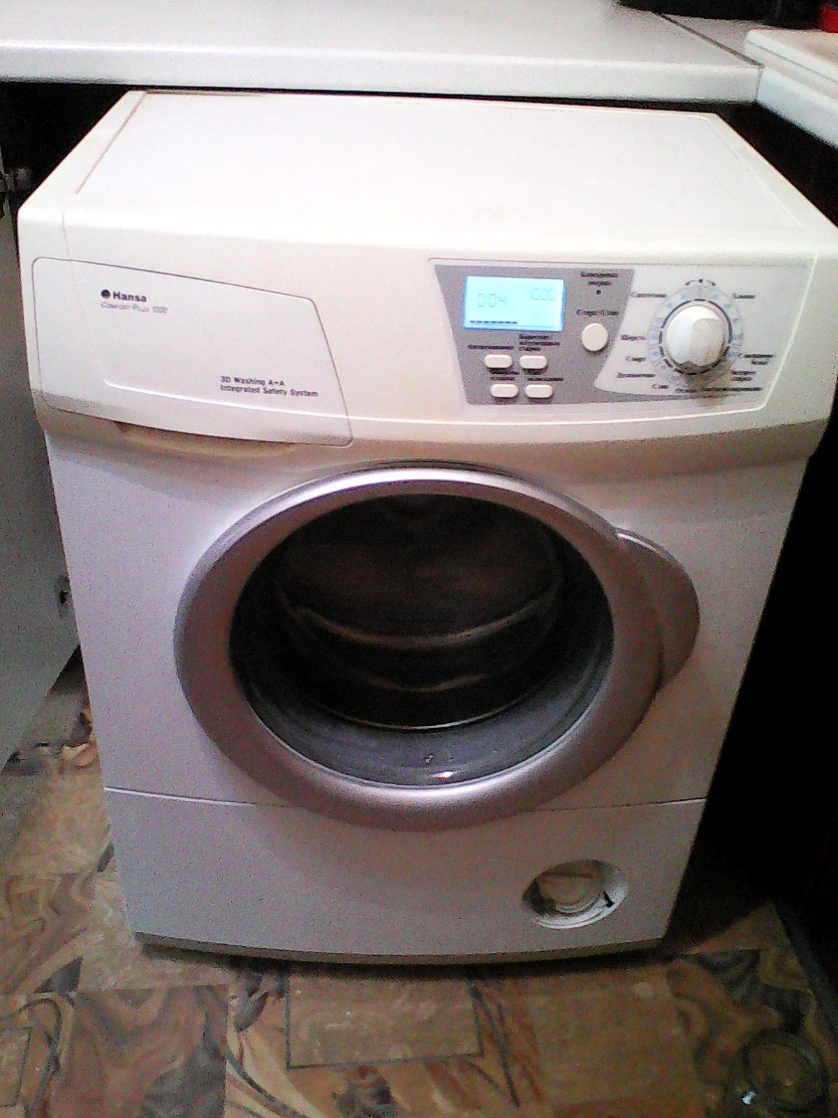 Автоматическая стиральная машина Hansa Comfort Plus 1000