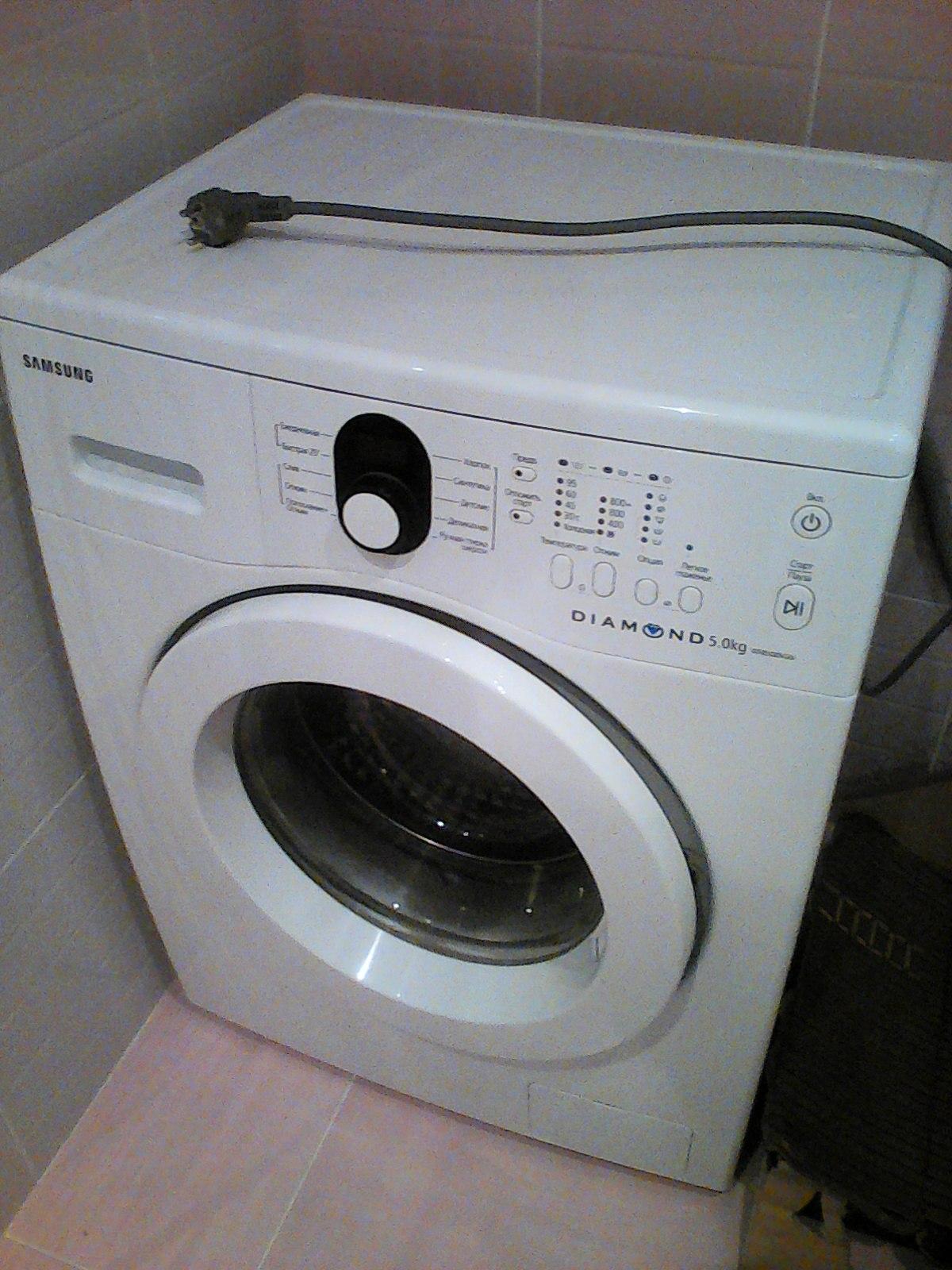 Автоматическая стиральная машина Samsung WF 8508 NGW Diamond