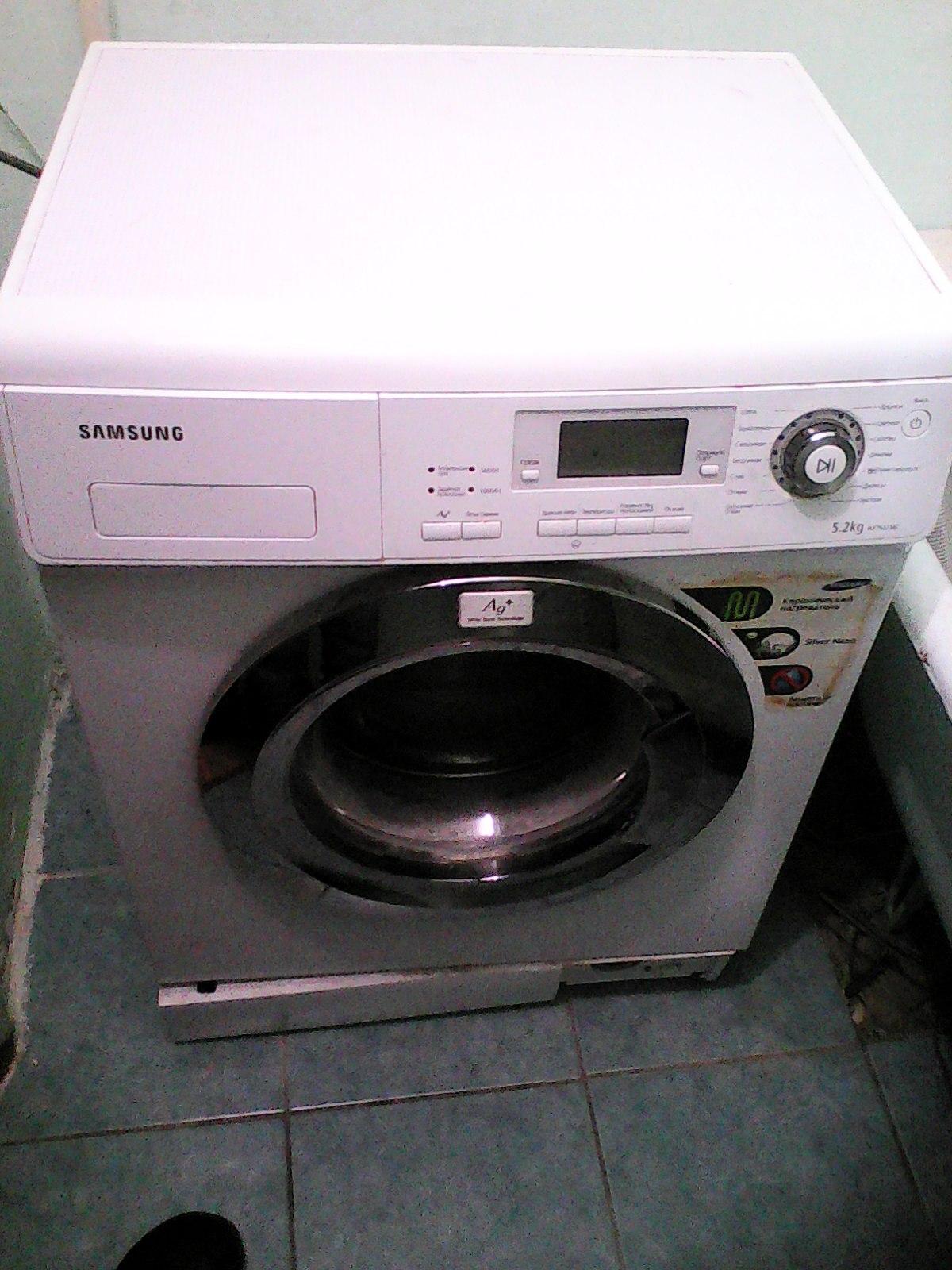 Автоматическая стиральная машина Samsung WF7522S8C