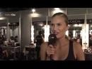 Model ALLA KOSTROMICHOVA Exclusive Interview MBFW Madrid Spring Summer 2014 49134