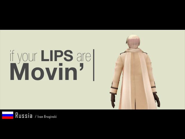 [MMD] Hetalia Characters - Lips Are Movin' (45 Gays ;) ||10K SUB||