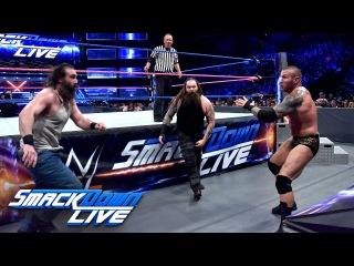 Randy Orton & Kane vs. Bray Wyatt & Luke Harper: SmackDown LIVE, Oct. 11, 2016