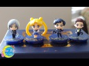 Chibi Sailor Moon Starlights School Figure Set by Megahouse