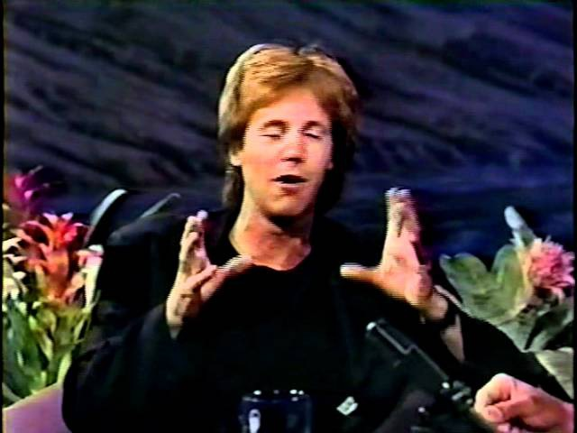 Dana Carvey with Jay Leno Tonight Show September 1992