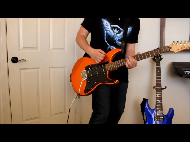 Skillet The Resistance Guitar cover With solo