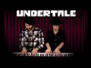 UNDERTALE - Spider Dance Piano Duet (Heyde Tedesco)