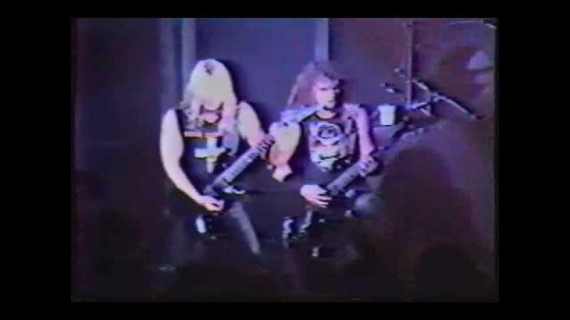 Slayer -Hell Awaits- Ritz NY 86