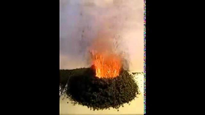 Разложение бихромата аммония Химический вулкан. ЭКСПЕРИМЕНТАТОР