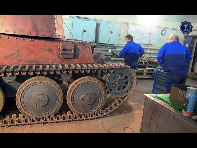 Танк Прага. Часть 2 | Реставраторы | Т24