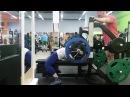 Юлия Зауголова, жим лёжа 117,5 кг