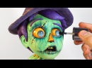 How To Paint ZOMBIE EYES Jim McKenzie's The Scarecrow