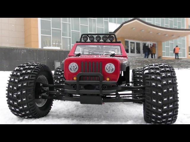 Обзор и тест-драйв авто KAISER eMTA Monster Truck - Thunder Tiger
