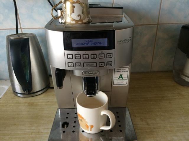 Кофе машина De-Longhi ECAM22 360 S опыт использования-2 месяца