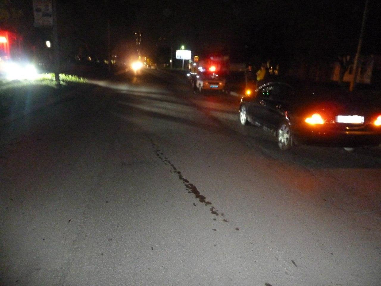 В Таганроге неизвестный пешеход угодил под колеса Honda Civic