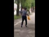 Веселый бегун на ул. Мира