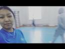ЕАГИ спорт залы💪💪💪 Қыздар дұрыстап жүгіреміз 😁😁😁