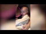 Малышка повторяет за мамой «Я тебя люблю»