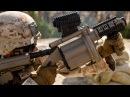 US Marines Shooting With The M32A1 Milkor MGL 40mm M203, M79 Shotguns