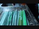 Muñecos soft - Tutorial como rizar lana ,video:5