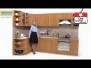 Кухня «Оля» Вишня ламинат/Ольха