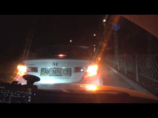 Дорожный контроль Жесть ГАИ и Подставные каждую ночь в Симферополе часть 2 март 2013