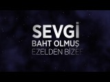 Mustafa Ceceli - Sevgi Baht Olmuş (Lyrics Video)