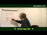 Alain Badiou. The Ontology of Multiplicity Omega As Event. 2011