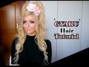 Gyaru Hair Tutorial   Half-up Ponytail mit Clip-in Extensions
