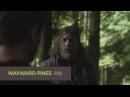 Третий сник-пик восьмой серии второго сезона сериала Wayward Pines (Уэйуорд Пайнс  Сосны)