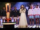 Sunny Leone Singing National Anthem Live At Pro Kabaddi