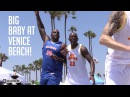 Glen Davis AKA Big Baby Highlights From Venice Beach | Big Baby Big AF at VBL