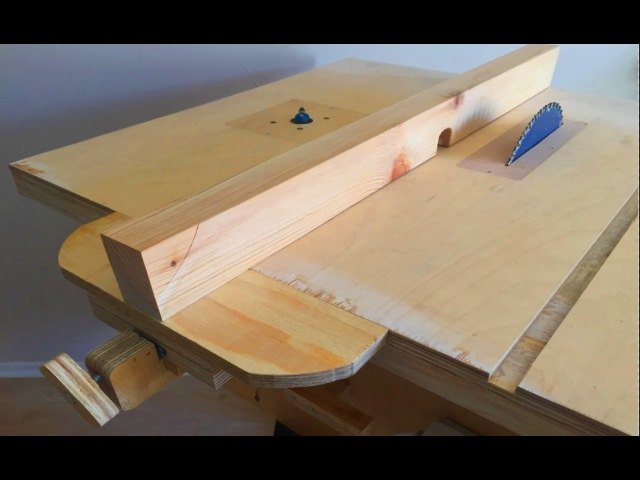 Making a Homemade Table Saw Fence Router Table Fence Tezgah Testere Paralellik Mesnedi