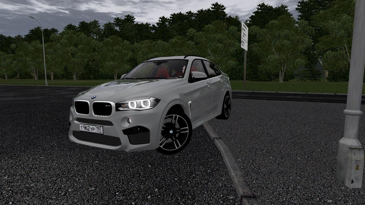 BMW X6M F86 для City Car Driving 1.5.1-1.5.2