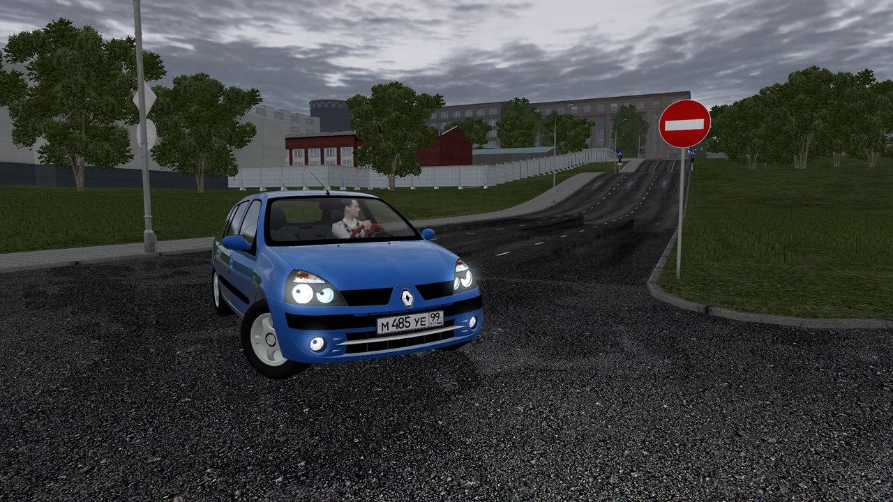 Renault Clio Symbol для City Car Driving 1.5.0-1.5.2