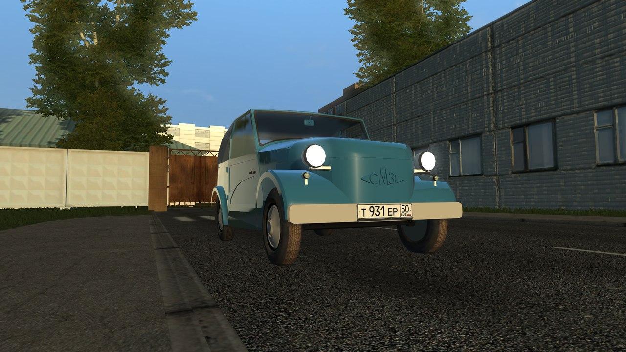 СМЗ С-3А для City Car Driving 1.5.0-1.5.2