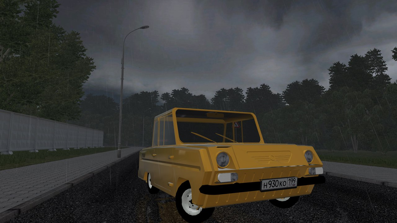СМЗ С-3Д для City Car Driving 1.5.0-1.5.2